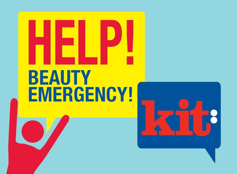 Items for your Beauty Emergency Kit