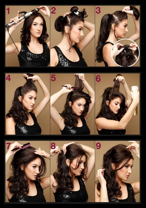 Lovely Side Ponytail Tutorial