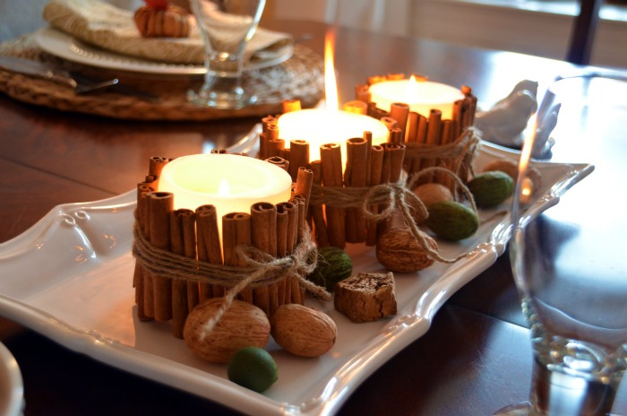 Perfect Cinnamon Stick Candles
