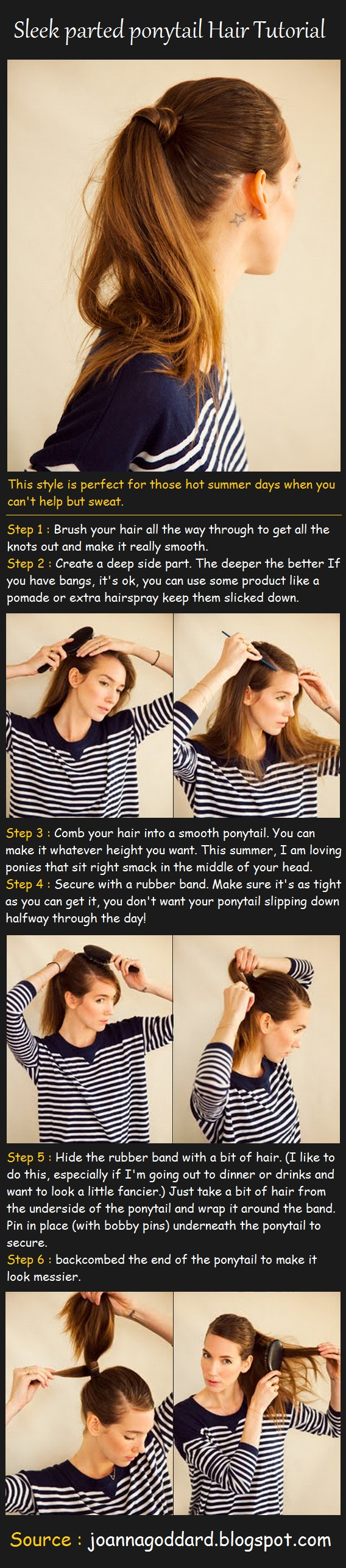 sleek-parted-ponytail-hair-tutorial