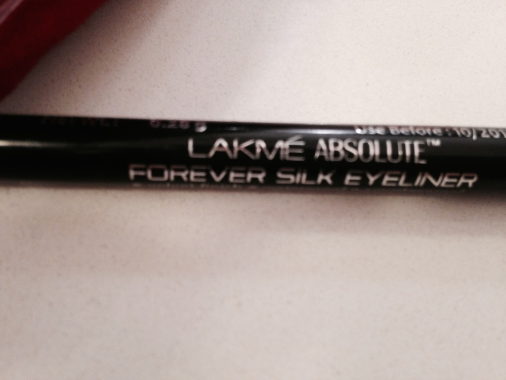 Lakme absolute forever silk eyeliner review