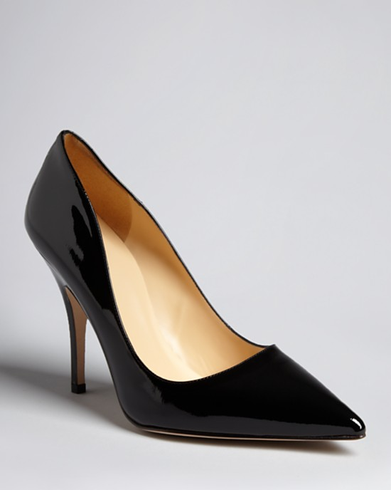 black pumps kate spade