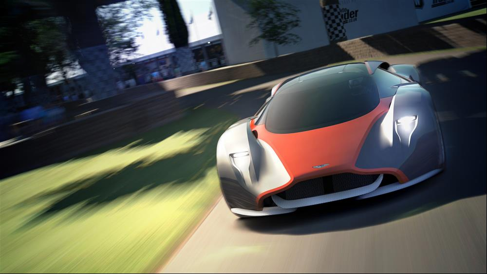 Aston Martin DP100 Racer for Gran Turismo 6 Unveiled