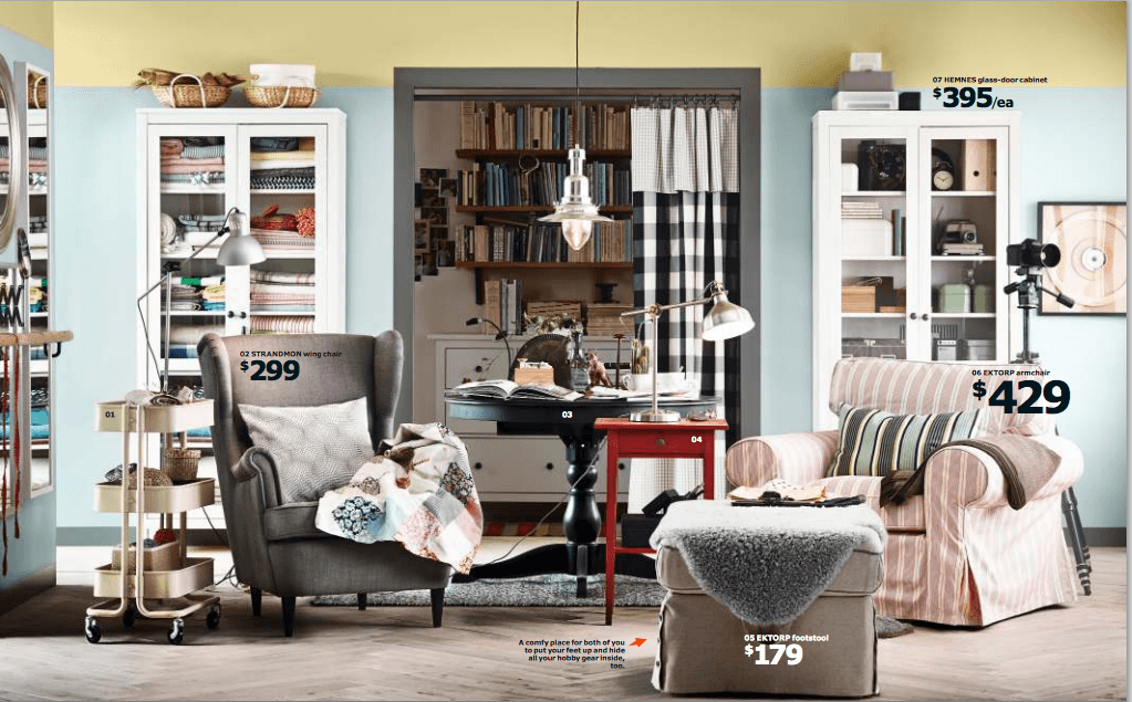 Ikea 2015 catalog redesign your home for Redesign your room