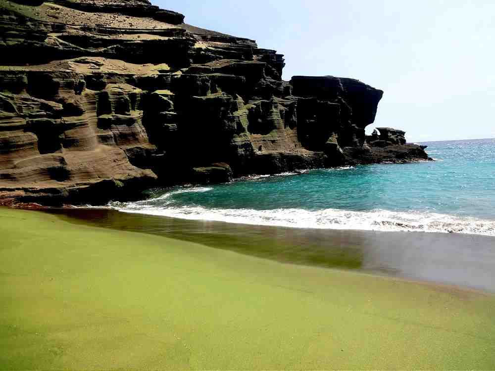 Green Sands Big Island Hawaii
