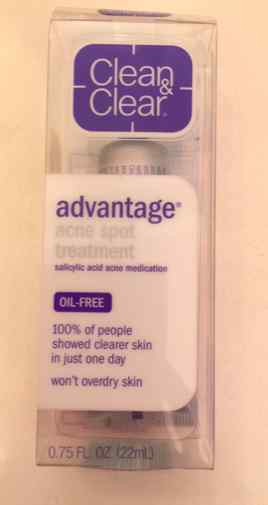 Clean & Clear Advantage Acne Spot Treatment Review