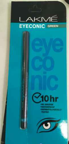 Lakme Eyeconic Kajal Review :Green