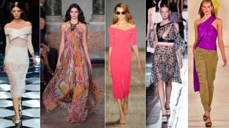 Shoulder baring spring 2015 fashion trends