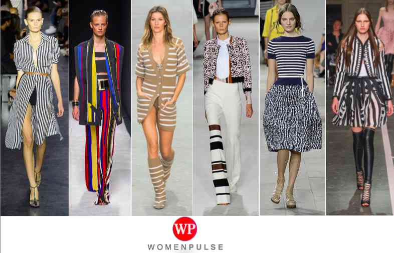 Stripes spring 2015 fashion trends