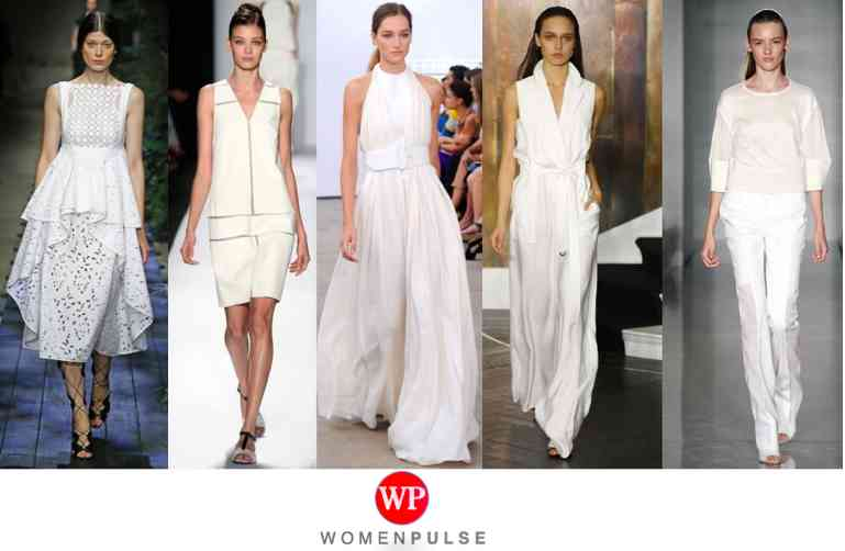 White spring 2015 fashion trends