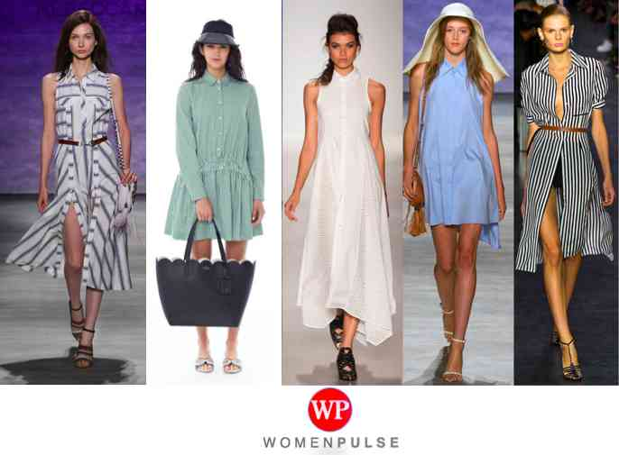 shirt dress spring 2015 fashion trends