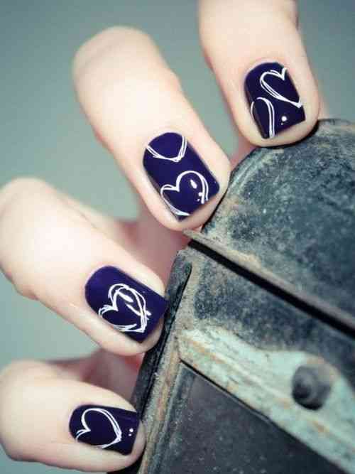 15 Valentine\'s day Nail Art Ideas 2015