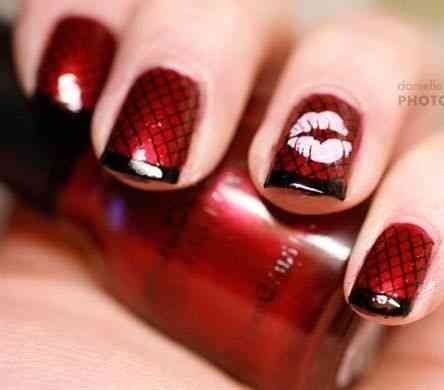 valentine's day nail art ideas