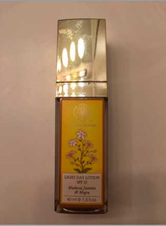 Forest Essentials Madurai Jasmine and Mogra Light Day Lotion Review