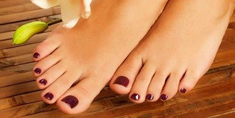 5 step diy home pedicure