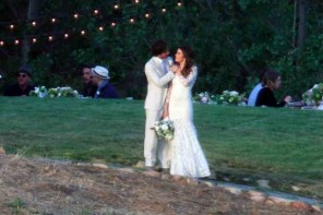 Ian Somerhalder-Nikki Reed Wedding Pictures
